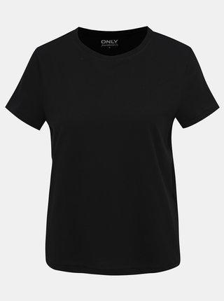 Černé basic tričko ONLY Russy