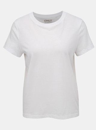 Biele basic tričko ONLY Russy
