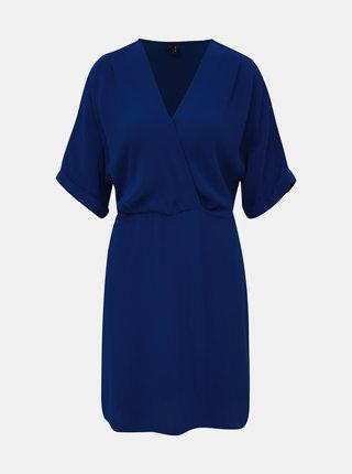 Tmavě modré šaty VERO MODA Mallison