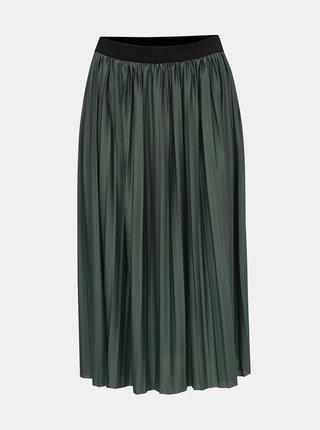 Zelená plisovaná sukňa Jacqueline de Yong Boa