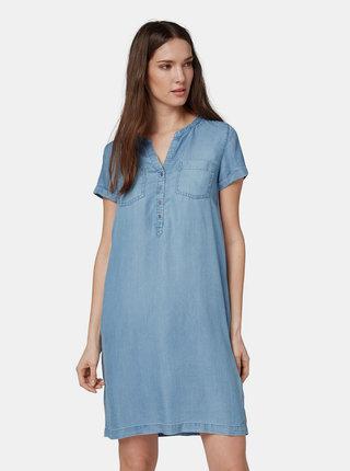 Modré džínové šaty Tom Tailor