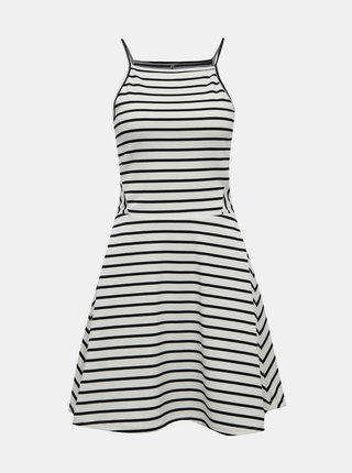 Bílé pruhované šaty ONLY Louisa