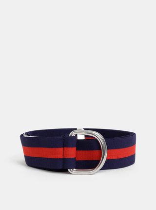 Červeno-modrý pruhovaný opasok ONLY Ella