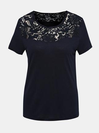 Tmavě modré tričko ONLY Alba