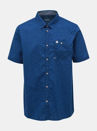 Modrá pánská vzorovaná košile Tom Tailor