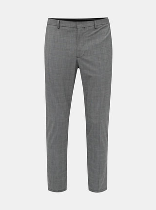 Pánské kostkované slim fit kalhoty Selected Homme Mathrep
