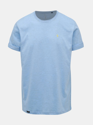 Modré žíhané tričko s výšivkou  Mr. Sailor