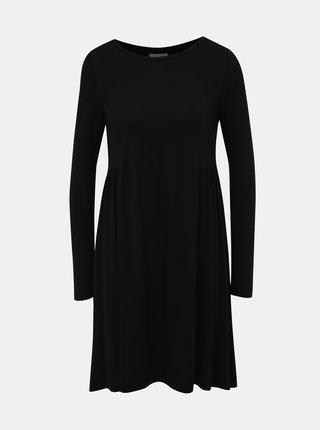 Čierne voľné šaty VILA Sunsita