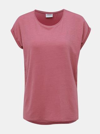 Starorúžové basic tričko VERO MODA AWARE Ava