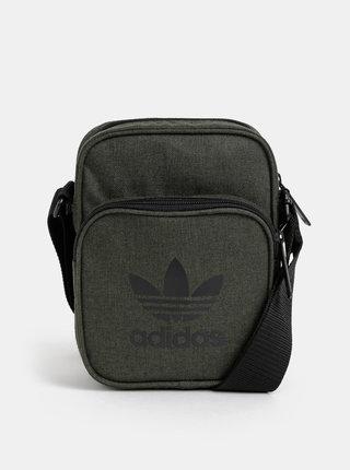 Tmavě zelená crossbody taška adidas Originals