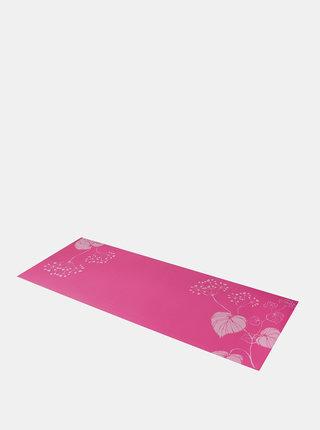 Růžová podložka na jógu s potiskem LOAP Ravi