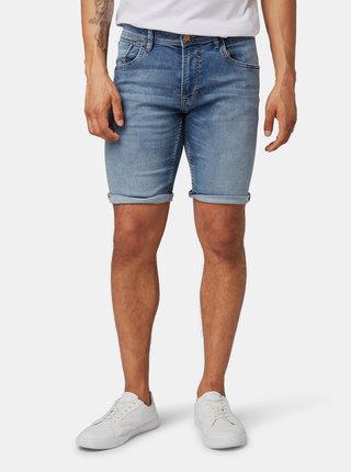 Modré pánské džínové kraťasy Tom Tailor Denim
