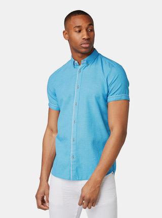 Modrá pánska vzorovaná košeľa Tom Tailor