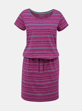 Fialové vzorované šaty LOAP Bereta