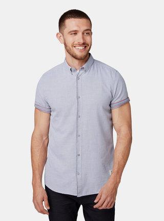 Svetlošedá vzorovaná košeľa Tom Tailor