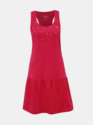 Rúžové šaty LOAP Mersila
