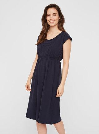 Tmavomodré šaty na kojenie Mama.licious Pera