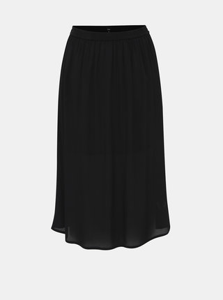 Čierna maxi sukňa Zizzi Dasy