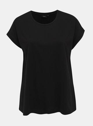 Čierne basic tričko Zizzi Katja