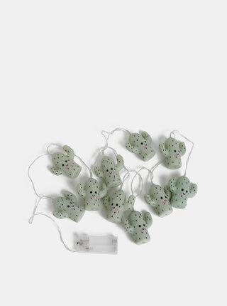 Zelená svietiaca reťaz s kaktusmi Disaster Cacti Fairy