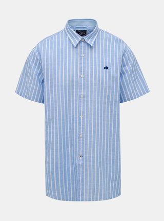 Modrá pruhovaná košile Raging Bull Bengal