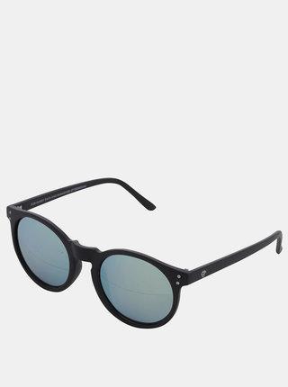 Čierne unisex slnečné okuliare CHPO Mavericks