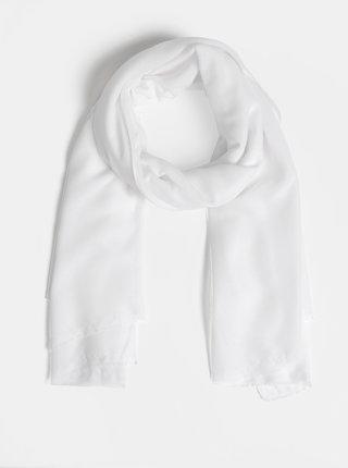 Bílý šátek Pieces Casey