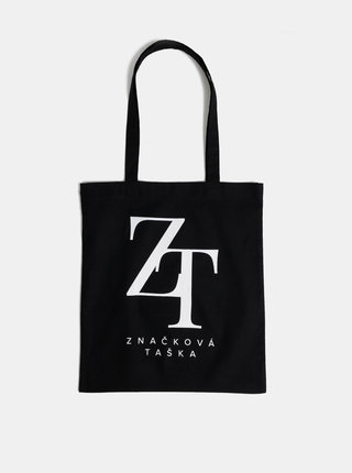 Čierna plátená taška ZOOT Original Značková