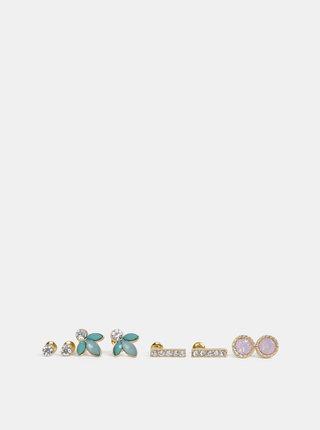 Sada čtyř párů náušnic ve zlaté barvě ONLY Maria