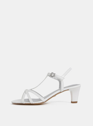 Biele sandálky Tamaris