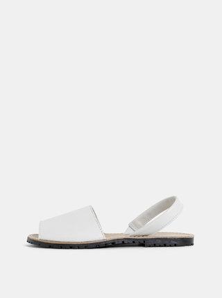4709d55e41a91 Béžové kožené sandále Miss Selfridge | ZOOT.sk
