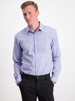 Modrá pruhovaná košile Lindbergh