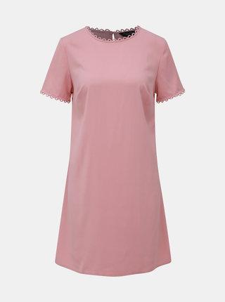 Růžové šaty Dorothy Perkins