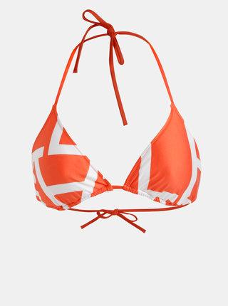 Oranžový horný diel plaviek Calvin Klein Underwear