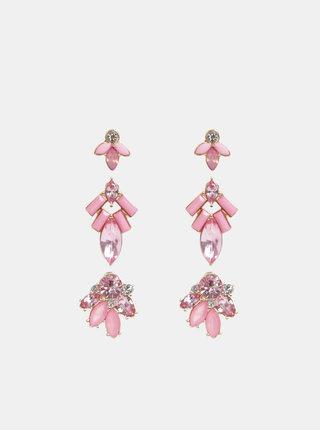 Sada troch párov rúžových náušníc ONLY Smilla