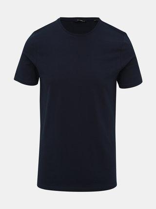 Tmavomodré basic tričko ONLY & SONS Basic