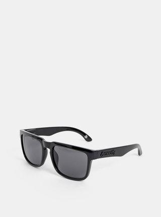 Čierne slnečné okuliare Meatfly Memphis