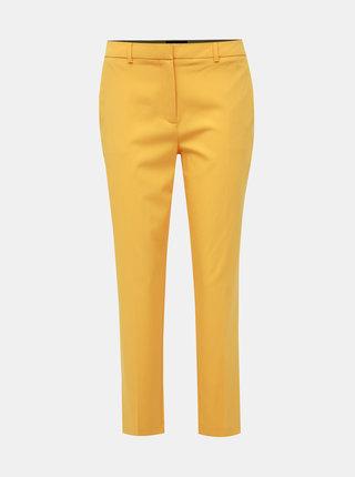 Žluté zkrácené kalhoty Dorothy Perkins