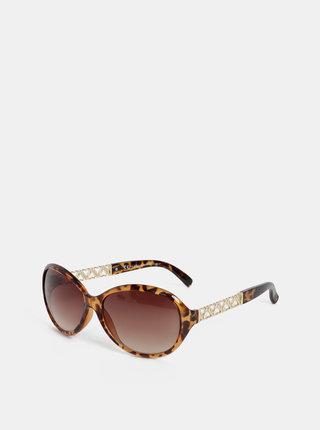 Hnedé slnečné okuliare Dorothy Perkins
