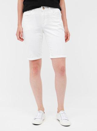 Biele rifľové kraťasy Dorothy Perkins Petite