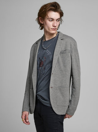 Šedé sako Jack & Jones Luther