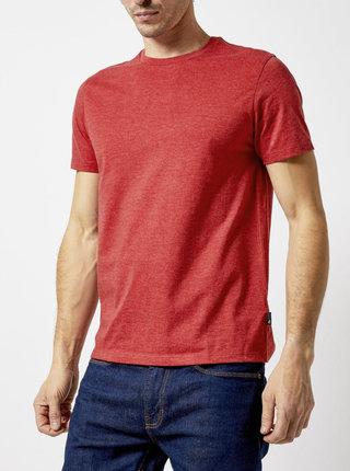 Červené basic tričko Burton Menswear London