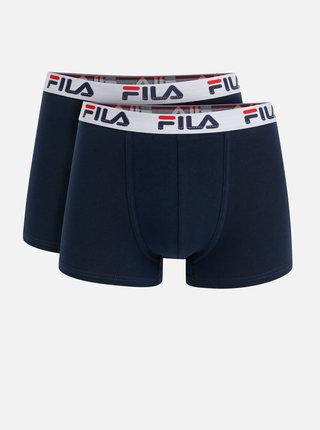Sada dvoch tmavomodrých boxeriek FILA
