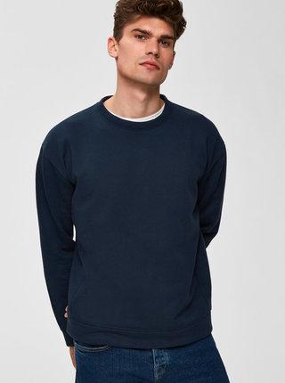 Tmavě modrá basic mikina Selected Homme Patt