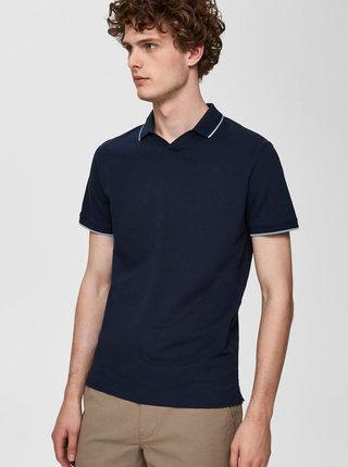Tmavě modré polo tričko Selected Homme King