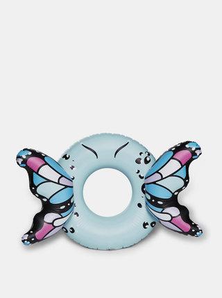 Modrý nafukovací kruh do vody ve tvaru motýla BigMouth Inc.