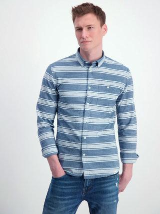 Camasa alb-albastru in dungi Shine Original