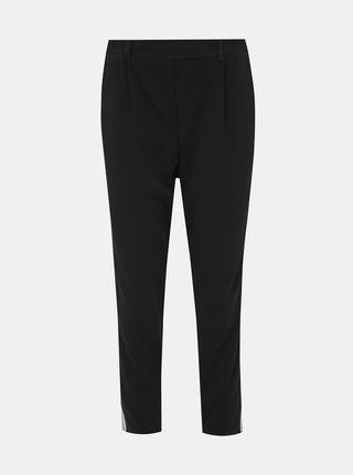 Černé zkrácené kalhoty TALLY WEiJL