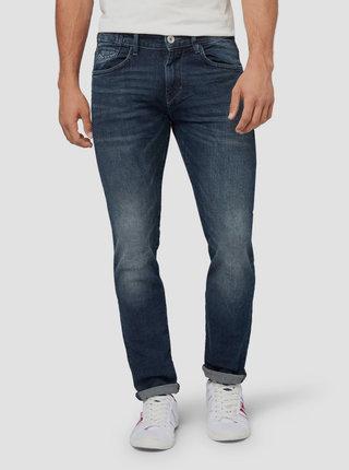 Tmavě modré pánské slim fit džíny Tom Tailor