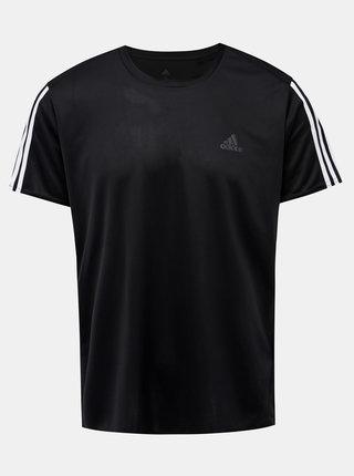 Černé pánské funkční tričko adidas Performance